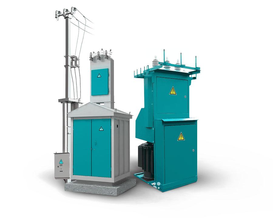 Установка и подключение трансформаторных подстанций (КТП)
